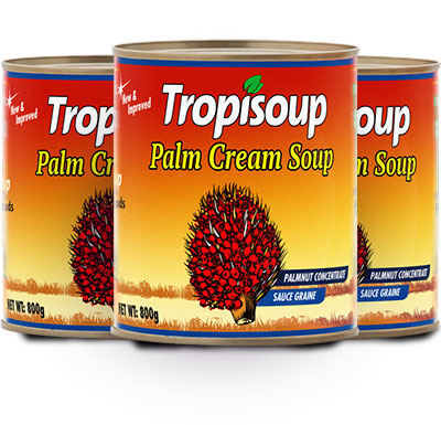 """Tropisoup"" Palm Cream Soup"