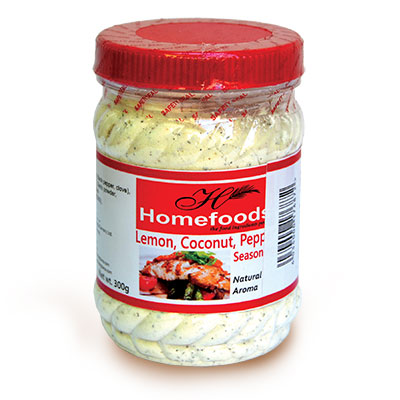 Lemon, Coconut, Pepper Seasoning