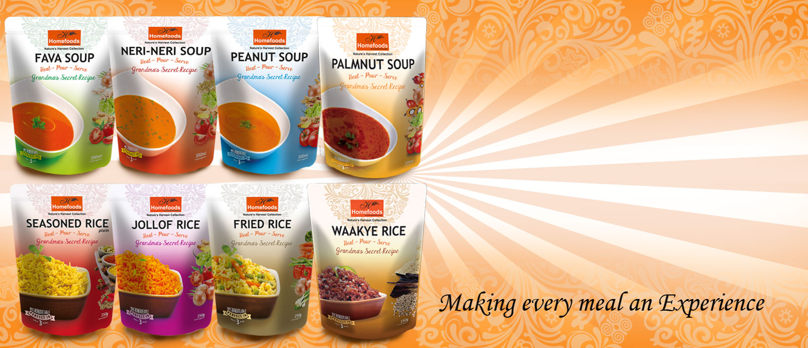 Ready-To-Eat Soups & Rice